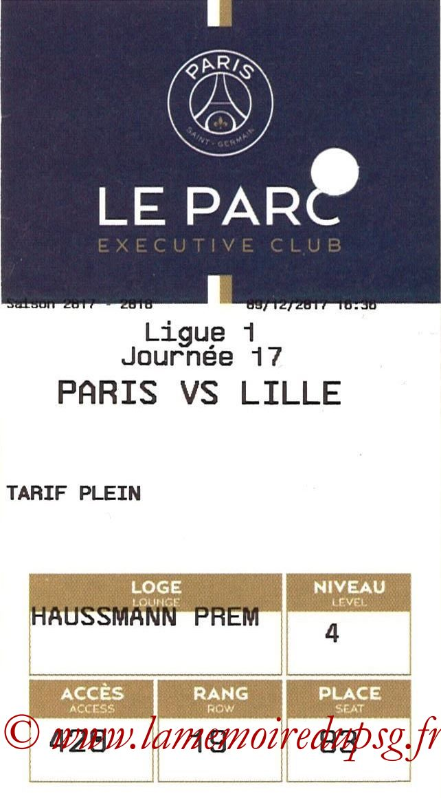 2017-12-09  PSG-Lille (17ème L1, E-ticket Executive club)