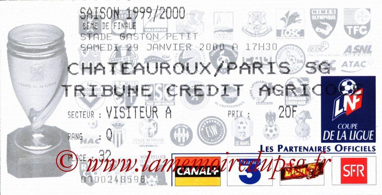 2000-01-29  Chateauroux-PSG (8ème CL)