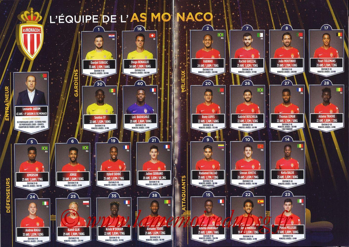 2018-03-31  PSG-Monaco (Finale CL à Bordeaux) - Pages 14 et 15