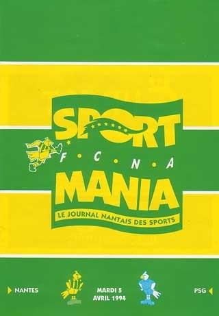 1994-04-05  Nantes-PSG (33ème D1, Sportmania bis)