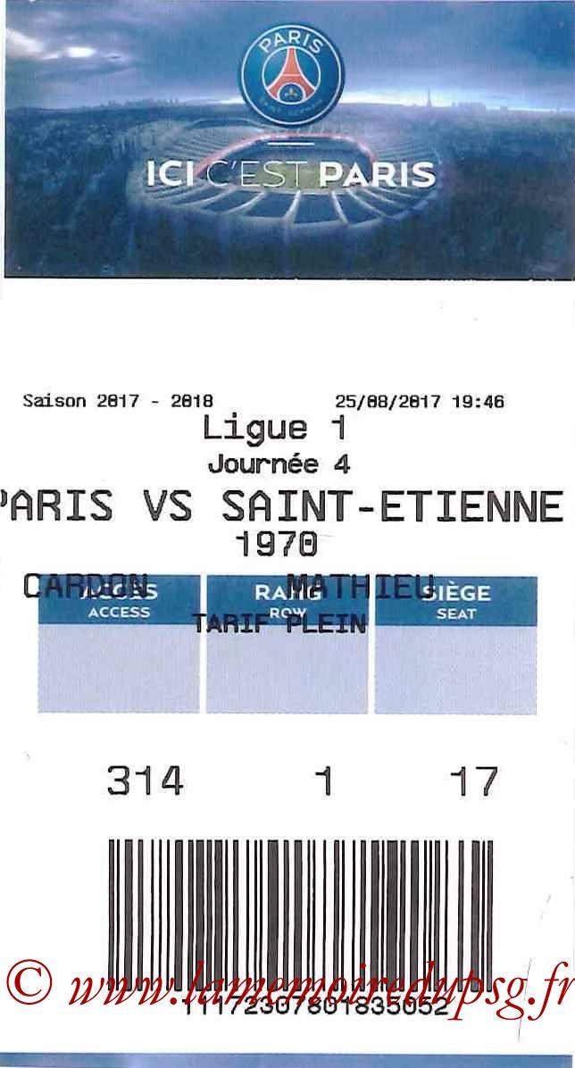 2017-08-25  PSG-Saint Etienne (4ème L1, E-ticket)