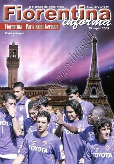 2009-07-29  Fiorentina-PSG (Amical à Florence, Fiorentina informa)
