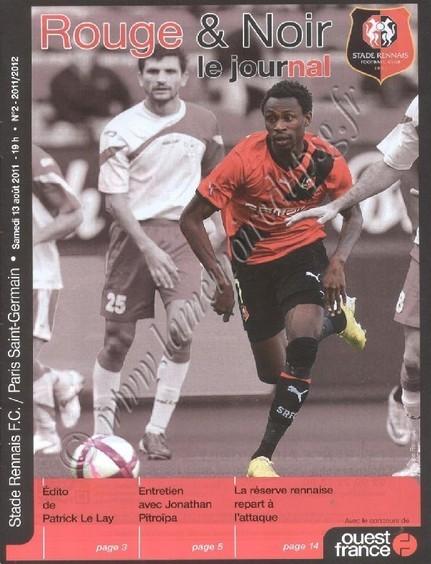 2011-08-13  Rennes-PSG (2ème L1, Rouge & Noir N°2)