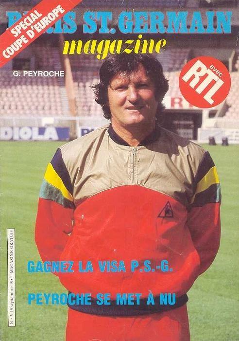 1984-09-19  PSG-Heart (32ème Finale Aller C3, Paris SG Magzine N°5)