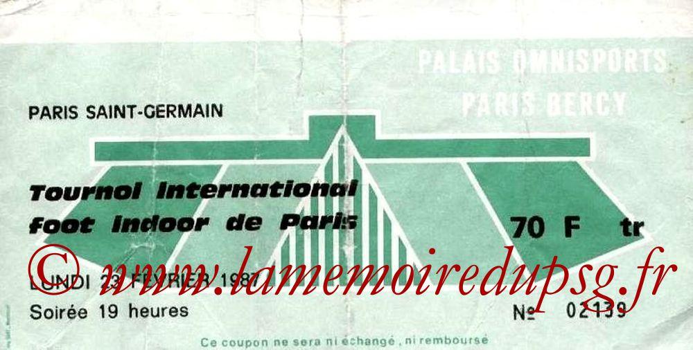 1987-02-23  PSG-FC Porto et PSG-Bordeaux (4ème Foot indoor à Bercy, 1ère journée)