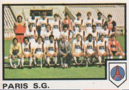 N° 188 - Equipe PSG