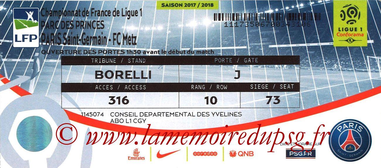 2018-03-10  PSG-Metz (29ème L1)