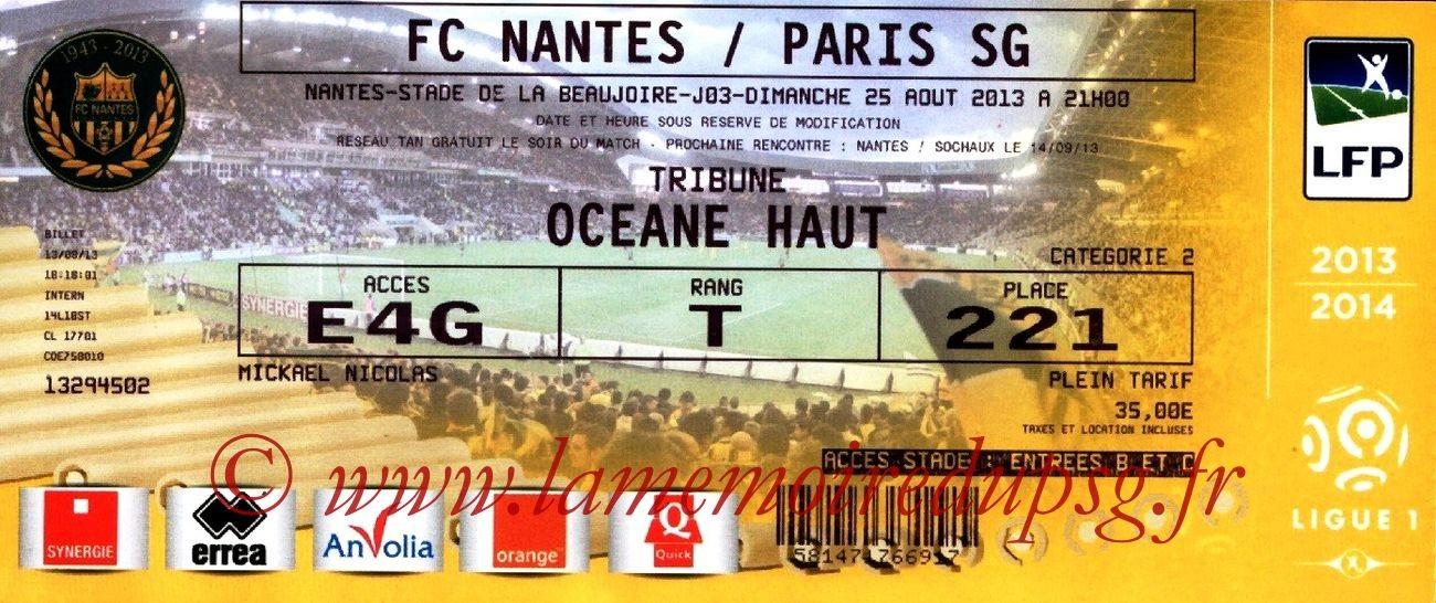 2013-08-25  Nantes-PSG (3ème L1)
