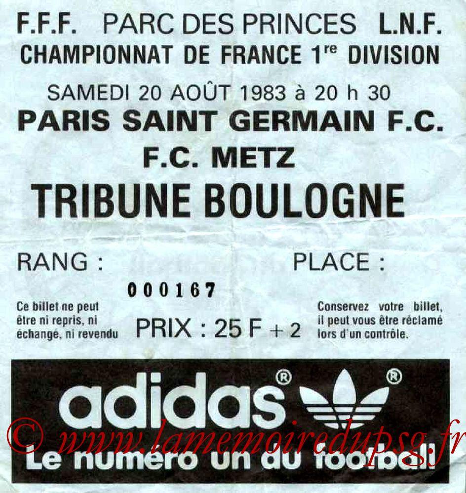 1983-08-20  PSG-Metz (6ème D1)