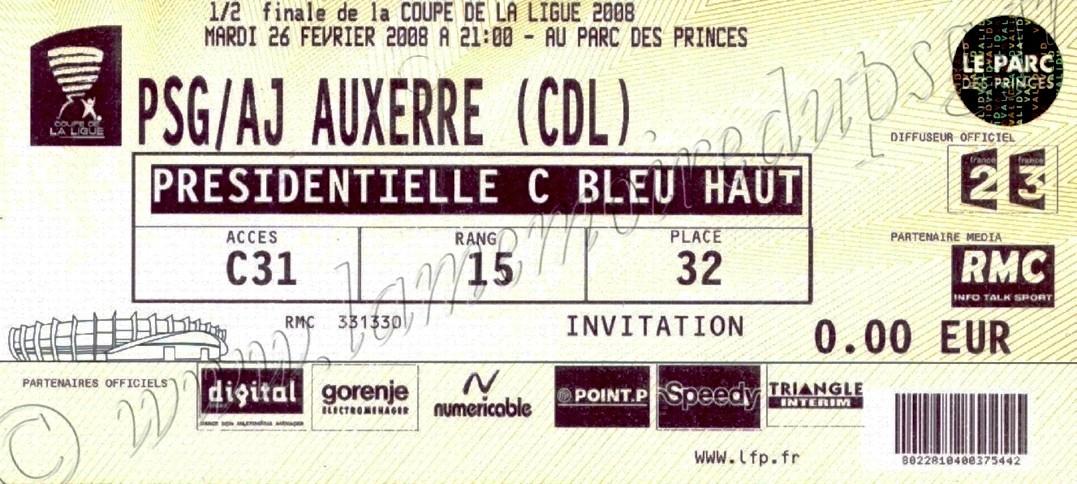2008-02-26  PSG-Auxerre (Demi Finale CL, ter)