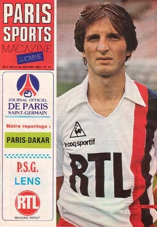 1983-02-08  PSG-Lens (24ème D1, Paris Sports Magazine N°10)