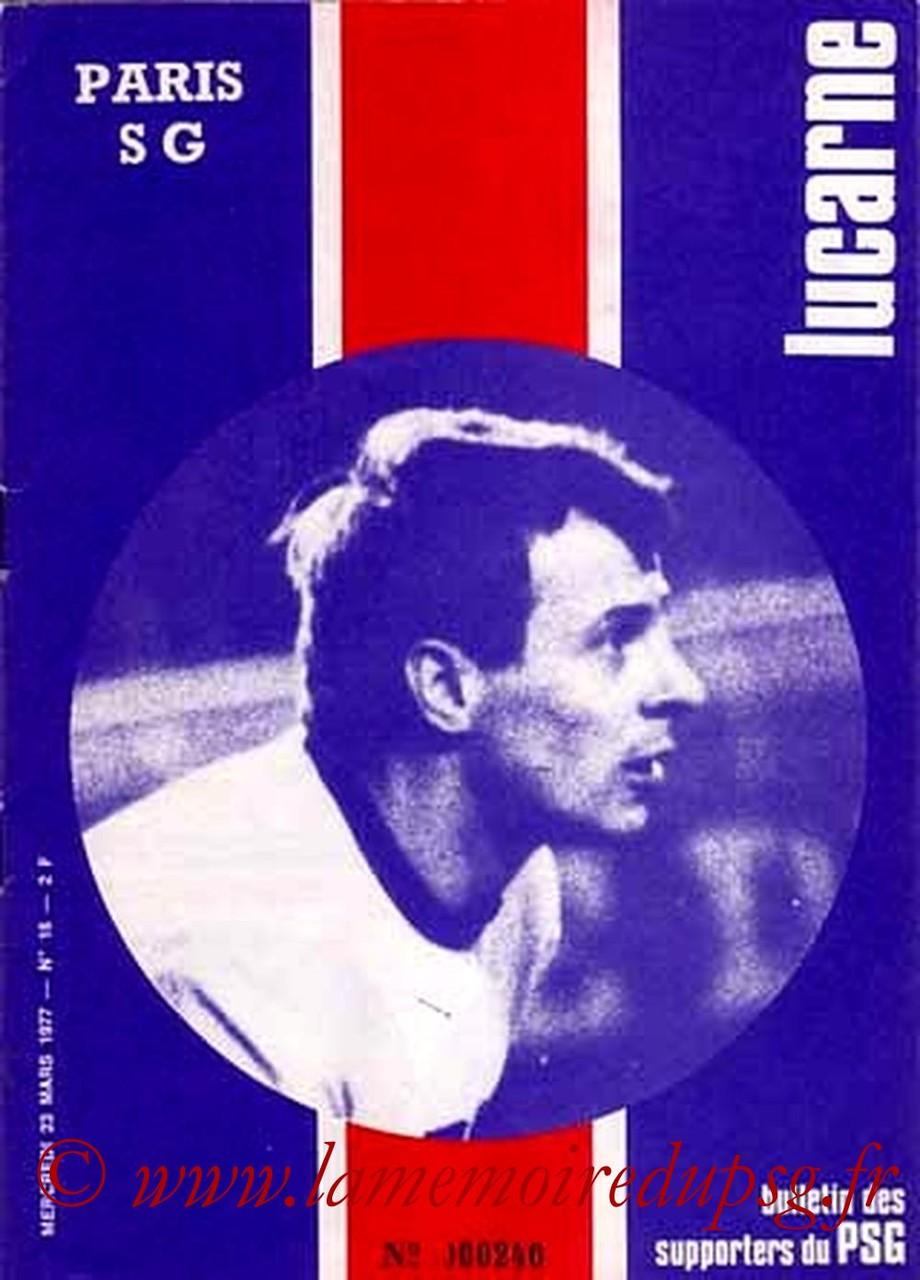 1977-03-23  PSG-Nantes (28ème D1, Lucarne N°16)
