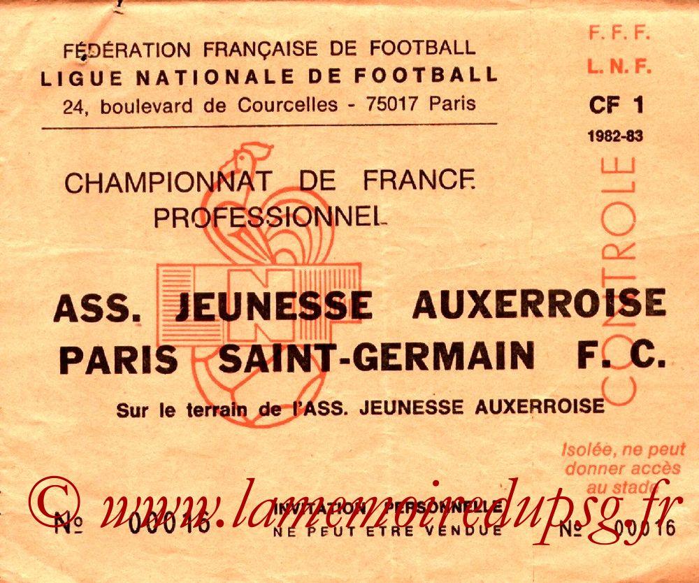 1983-05-20  Auxerre-PSG (36ème D1, Invitation)
