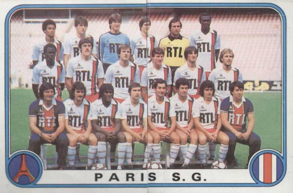 N° 236 et 237 - Equipe PSG