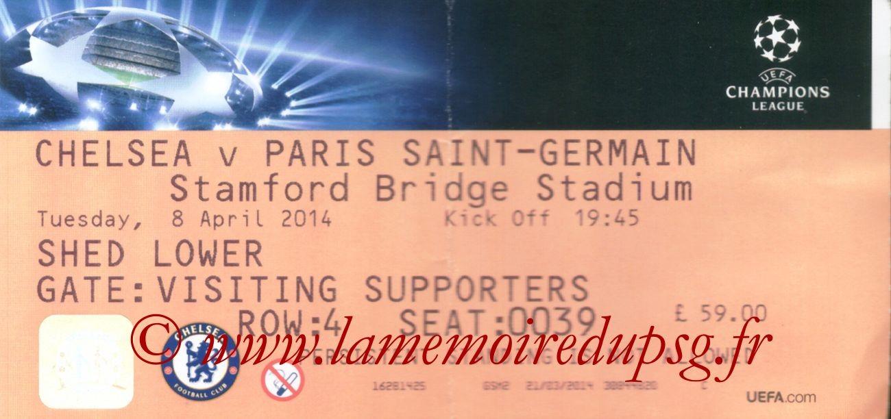 v2014-04-08  Chelsea-PSG (Quart finale Retour C1) bis