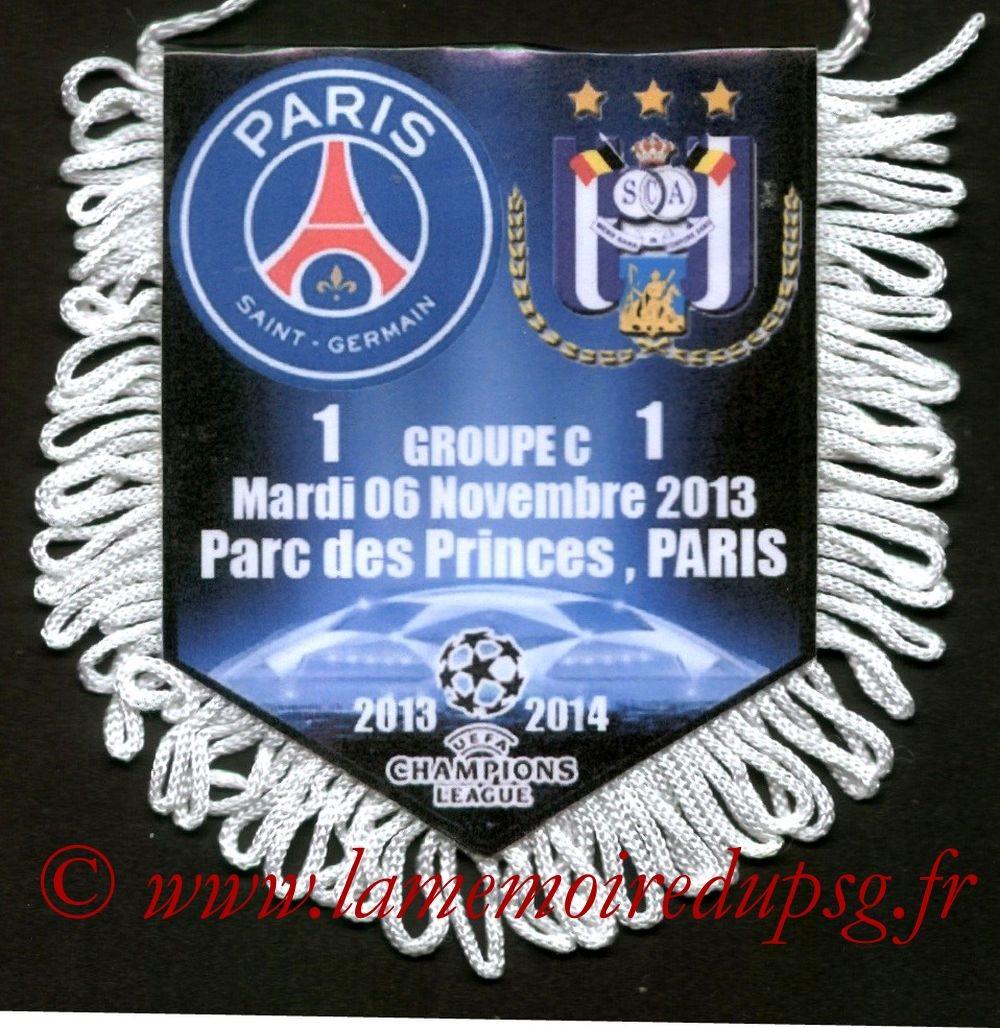 2013-11-06  PSG-Anderlecht (4ème C1)
