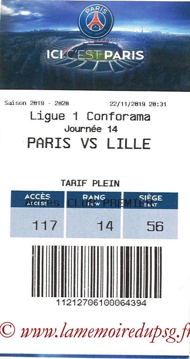 2019-11-22  PSG-Lille (14ème L1, E-ticket)