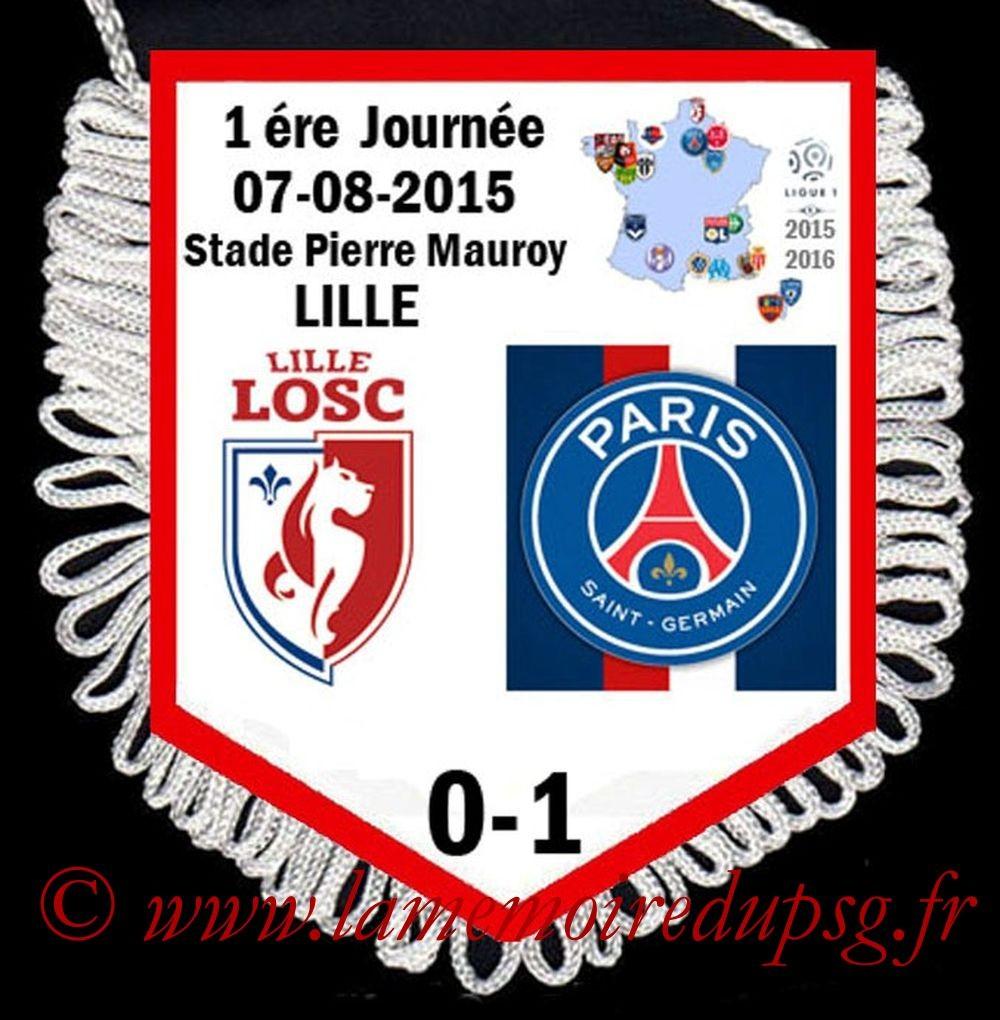 2015-08-07  Lille-PSG (1ère L1)