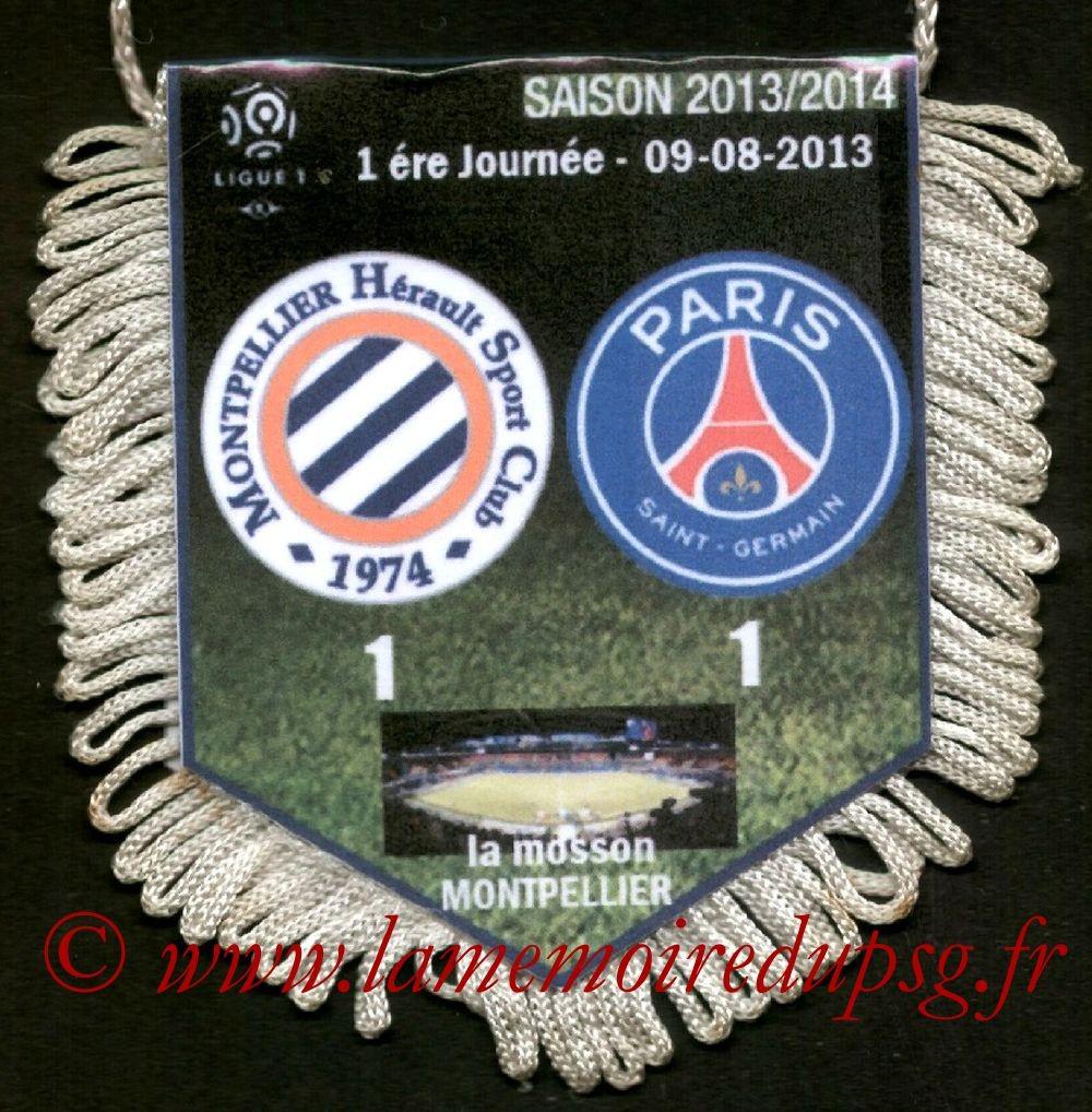 2013-08-09  Montpellier-PSG (1ère L1)