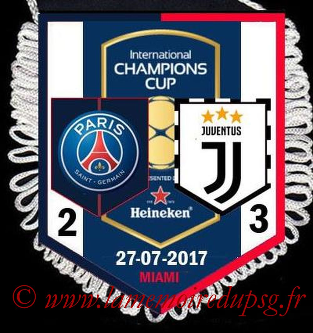 2017-07-27  PSG-Juventus (International Champions Cup)