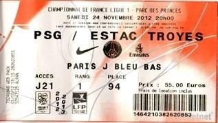 2012-11-24  PSG-Troyes (14ème L1, Tickenet)