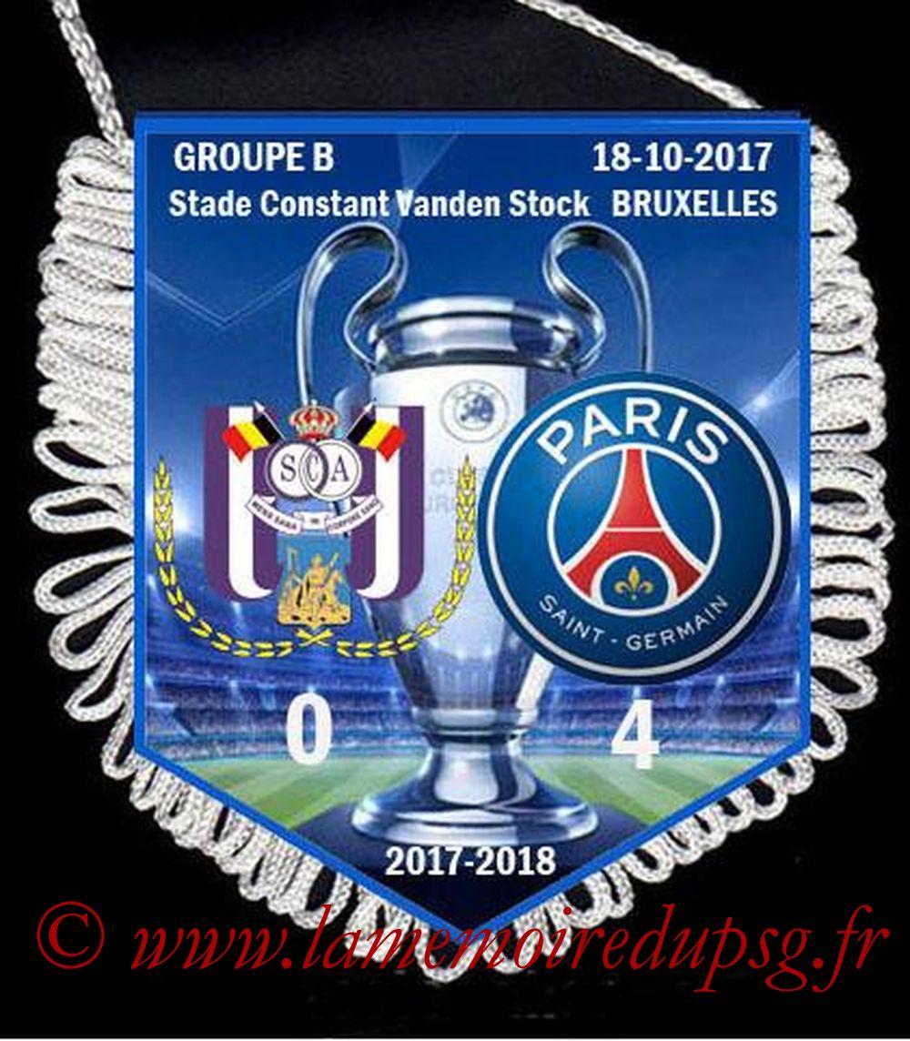 2017-10-18  Anderlecht-PSG (3ème Poule C1)