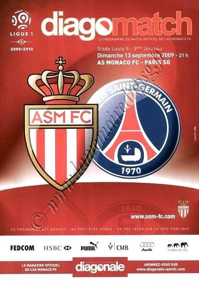 2009-09-13  Monaco-PSG (5ème L1, Diago match)