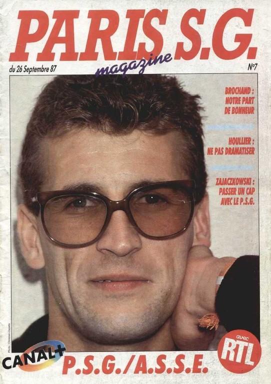 1987-09-26  PSG-Saint Etienne (12ème D1, Paris SG Magazine N°7)