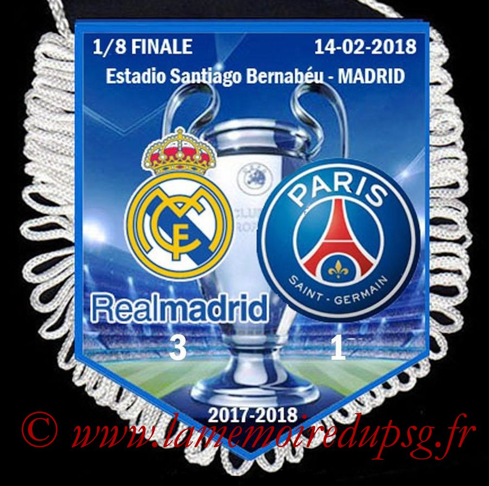 2018-02-14  Real Madrid-PSG (8ème Aller C1)