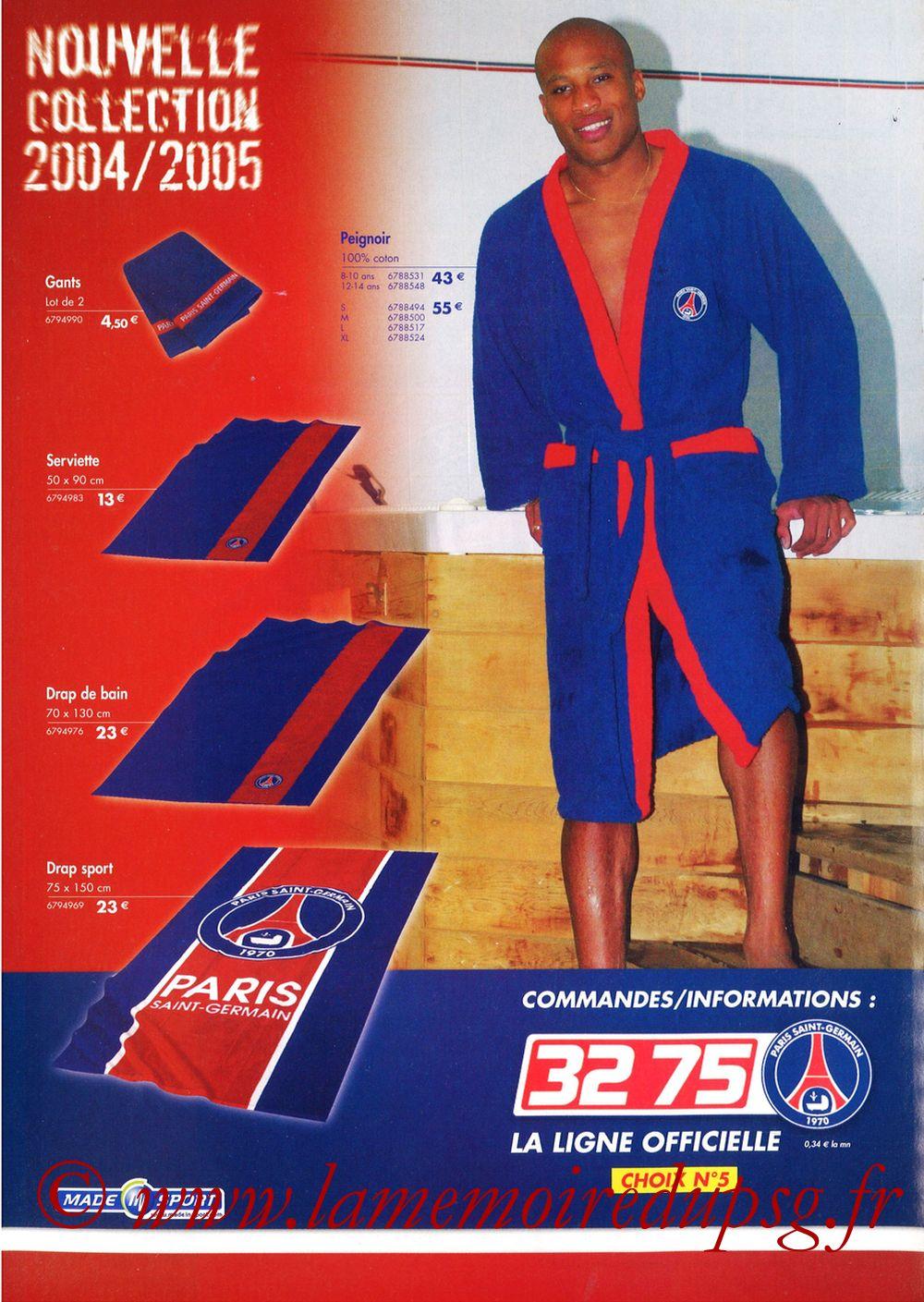 Catalogue PSG - 2004-05 - Page 12