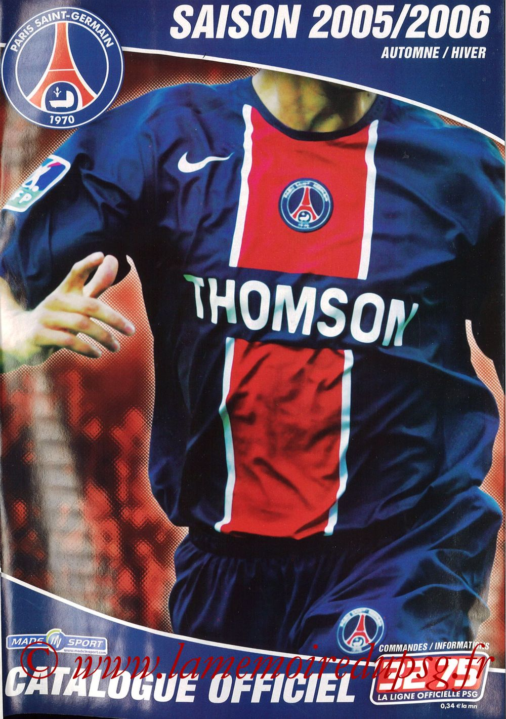 Catalogue PSG - 2005-06