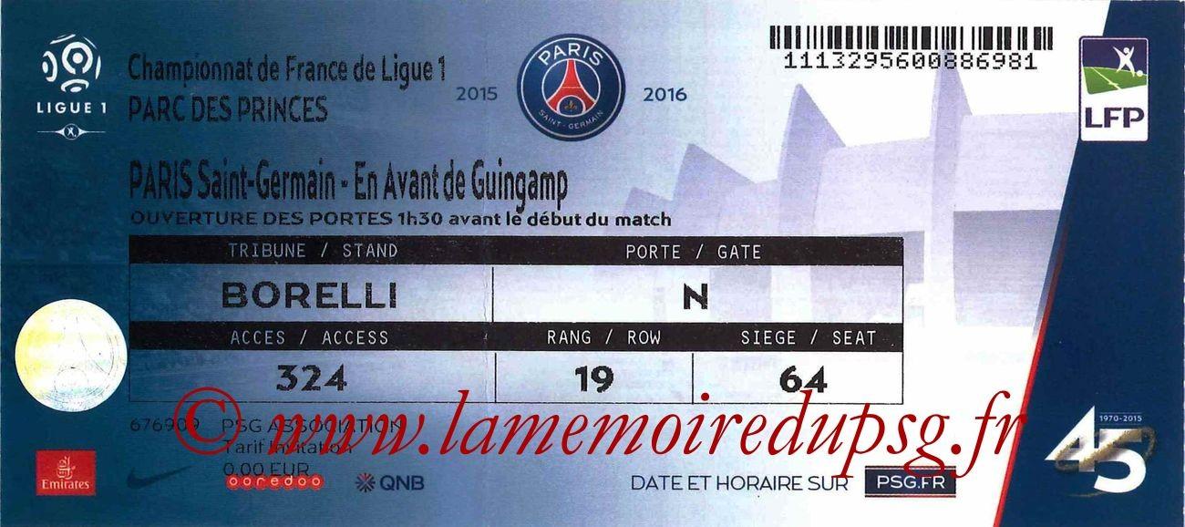 2015-09-22  PSG-Guingamp (7ème L1)