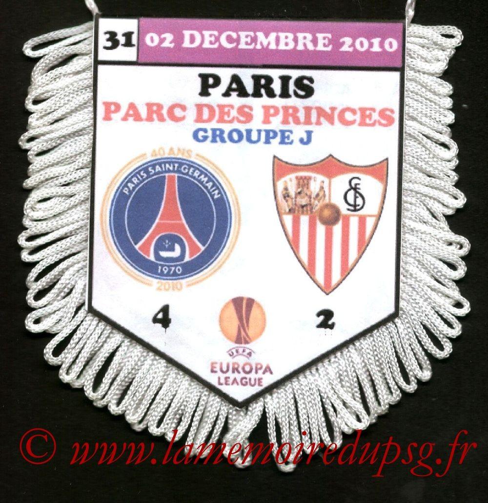 2010-12-02  PSG-FC Seville (5ème Journée Poule C3)
