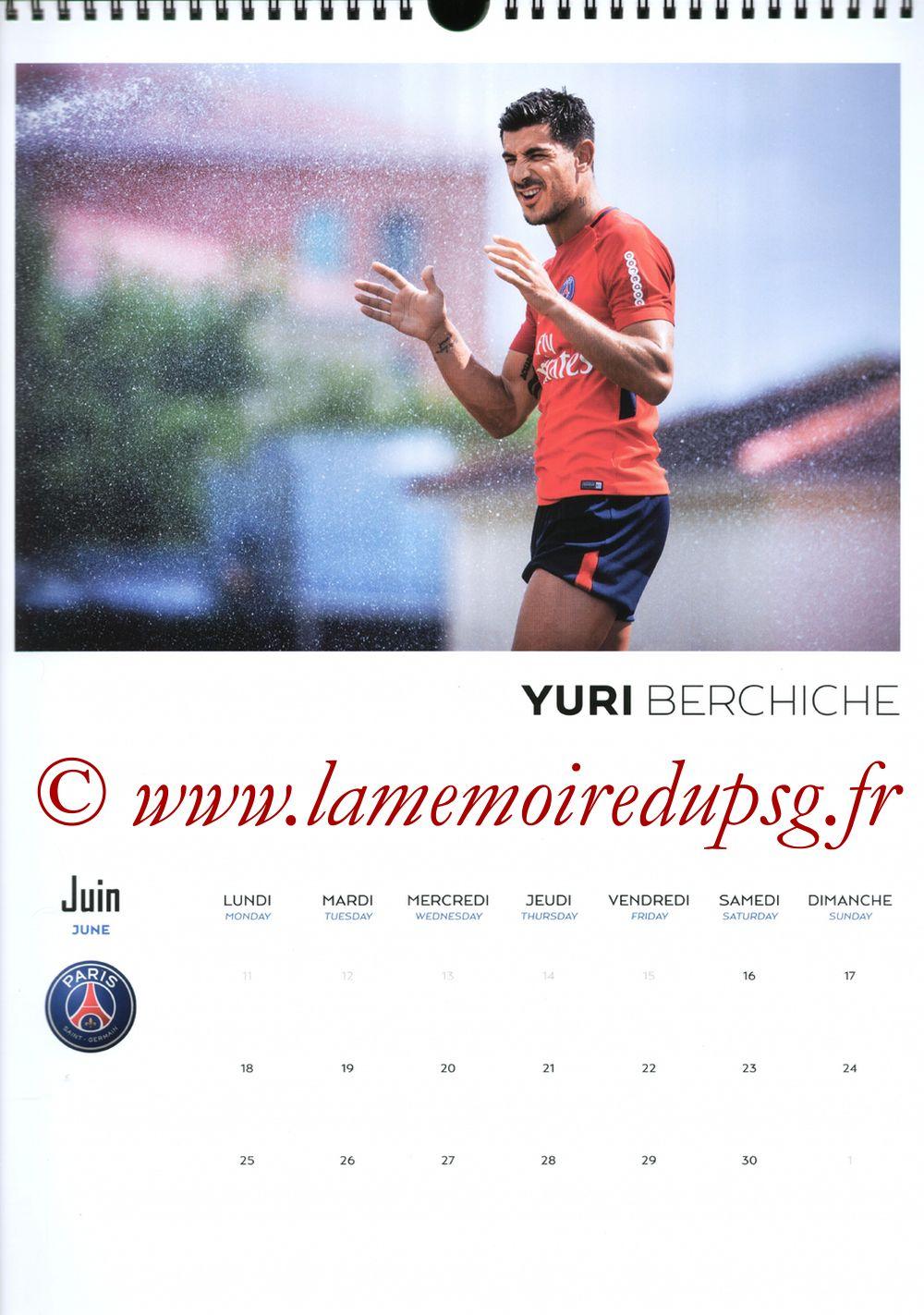 Calendrier PSG 2018 - Page 12 - Yuri BERCHICHE