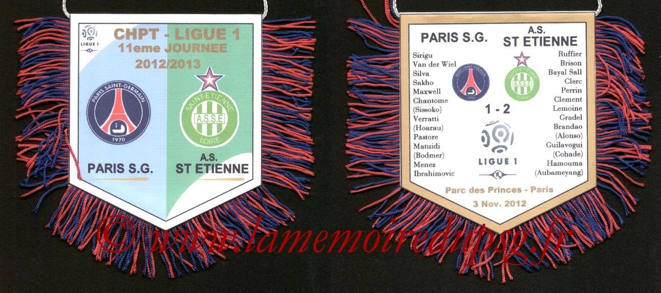 2012-11-03  PSG-Saint Etienne bis (11ème L1)