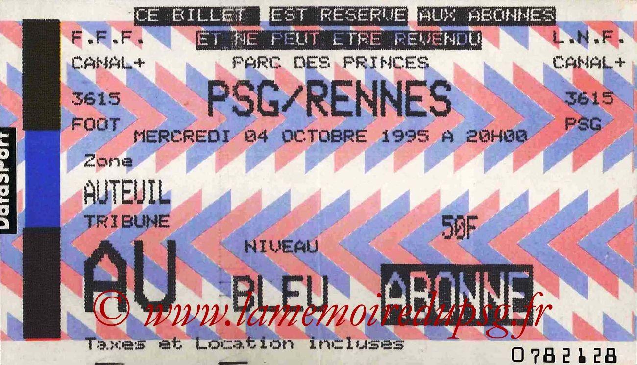 1995-10-04  PSG-Rennes (12ème D1)
