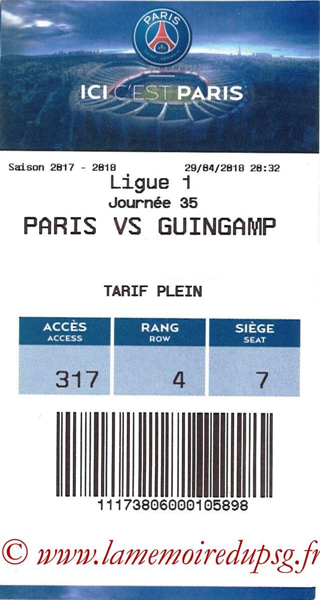 2018-04-29  PSG-Guingamp (35ème L1, E-ticket)