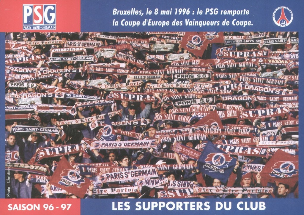 Les supporters du club  96-97