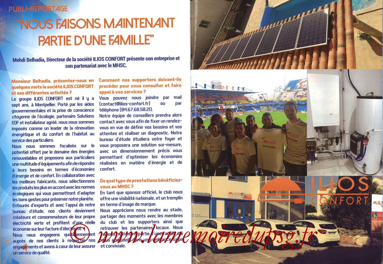 2017-09-23  Montpellier-PSG (7ème L1, L'Echo de la Mosson N°4) - Pages 28 et 29