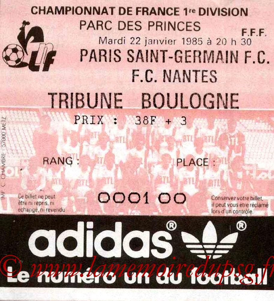 1985-03-05  PSG-Nantes (22ème D1, Match en retard)