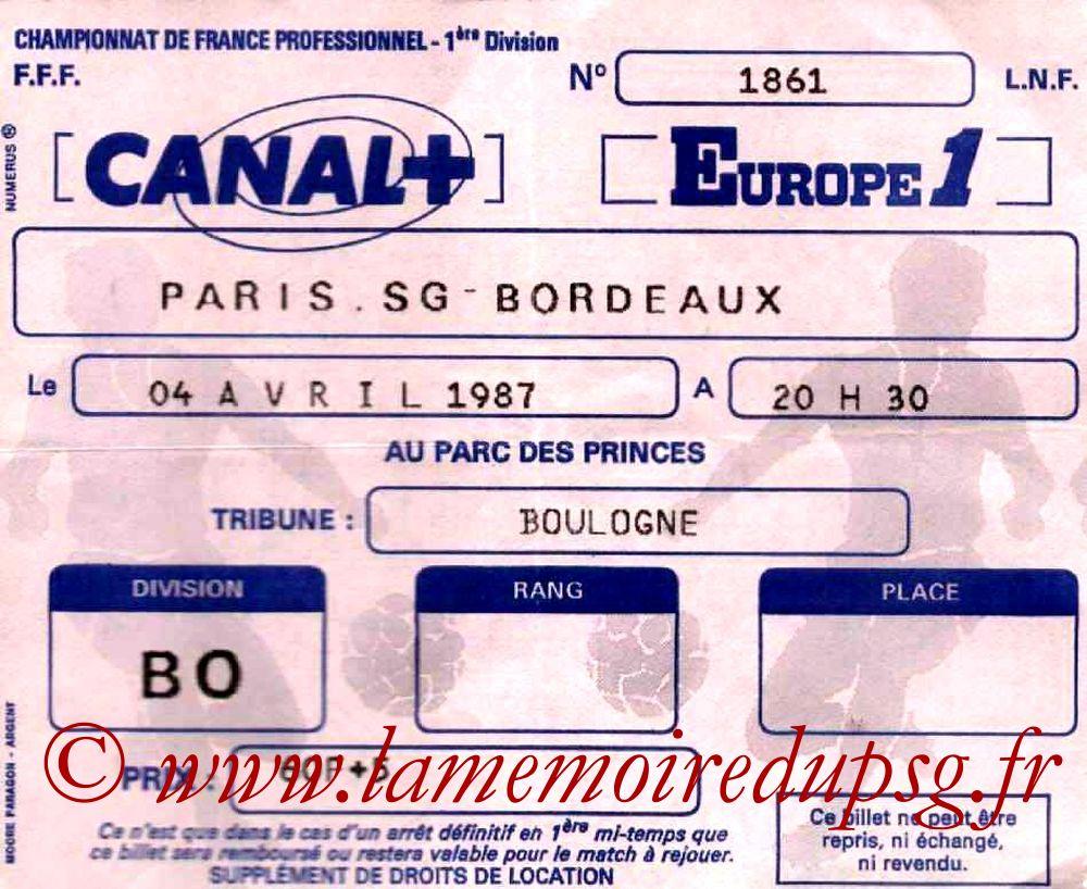1987-04-04  PSG-Bordeaux (30ème D1)