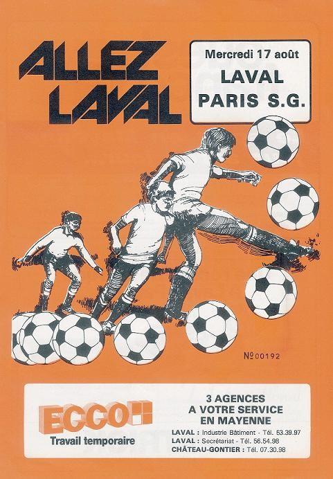 1983-08-17  Laval-PSG (5ème D1, Allez Laval)