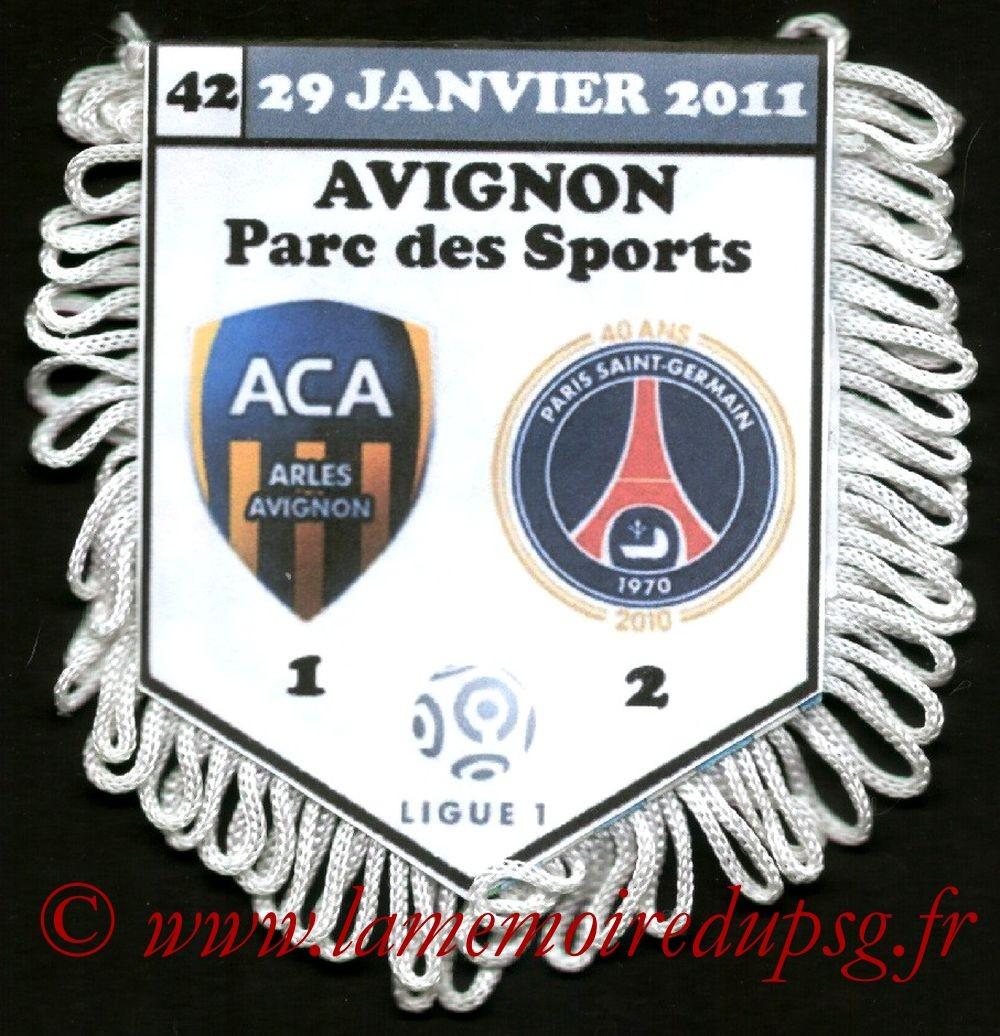 2011-01-29  Arles Avignon-PSG (21ème L1)