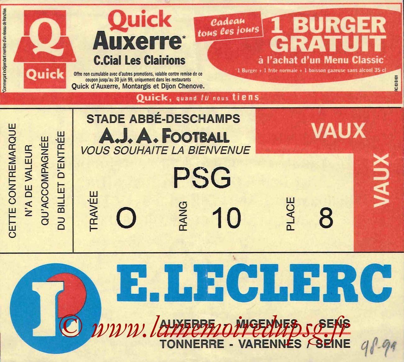 1999-03-20  Auxerre-PSG (27ème D1)