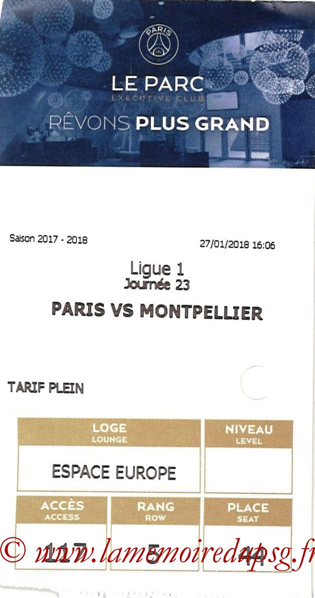 2018-01-27  PSG-Montpellier (23ème L1, E-ticket Executive club 2)