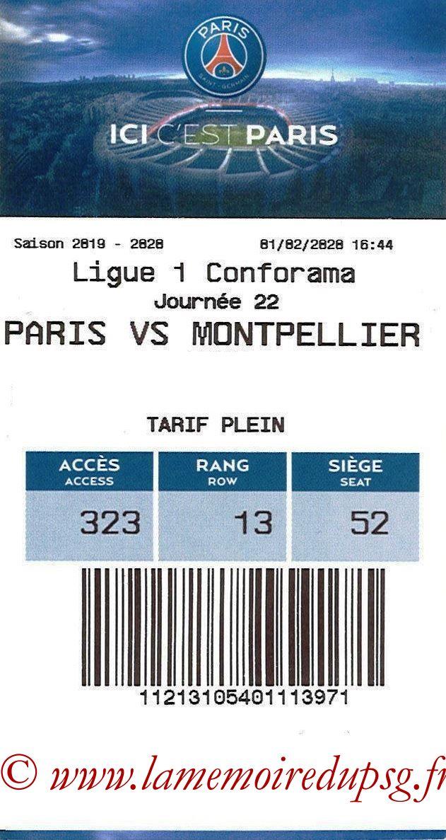 2020-02-01  PSG-Montpellier (22ème L1, E-ticket)
