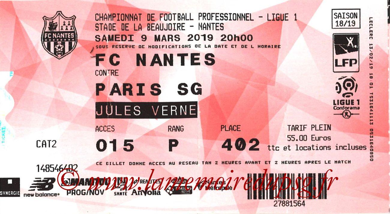 2019-04-17  Nantes-PSG (28ème L1 en retard, E-ticket)
