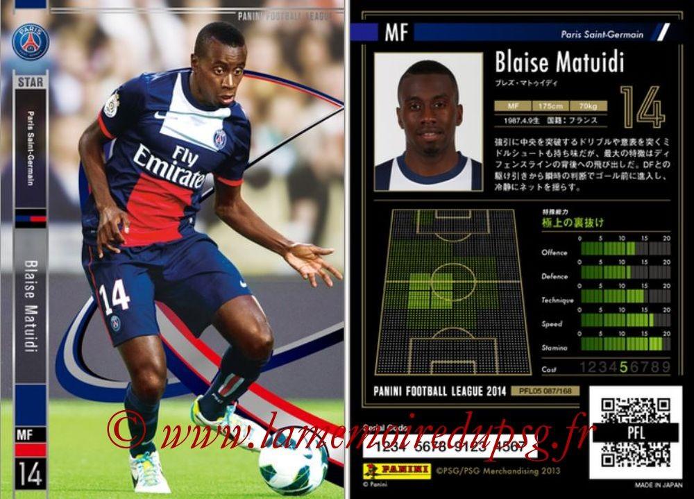 N° 087 - Blaise MATUIDI (Star)
