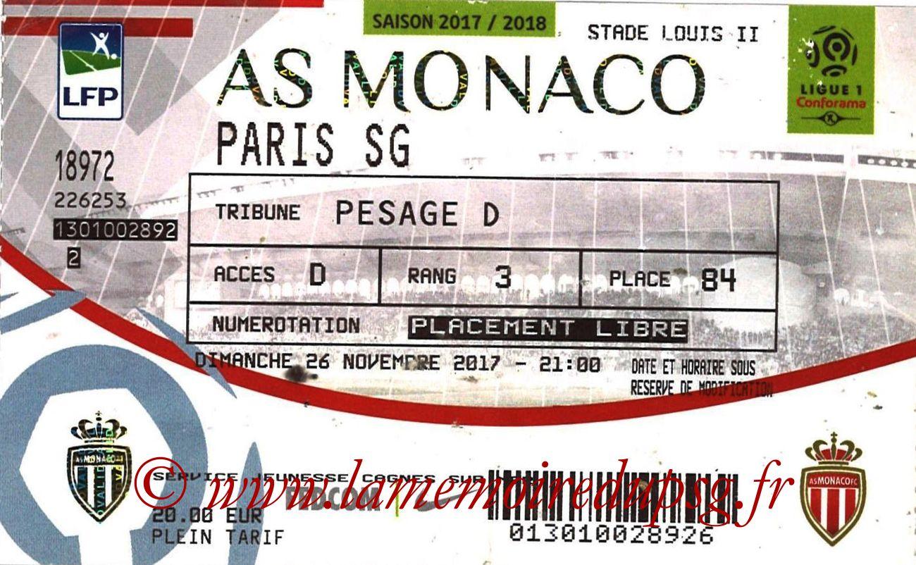 2017-11-26  Monaco-PSG (14ème L1)