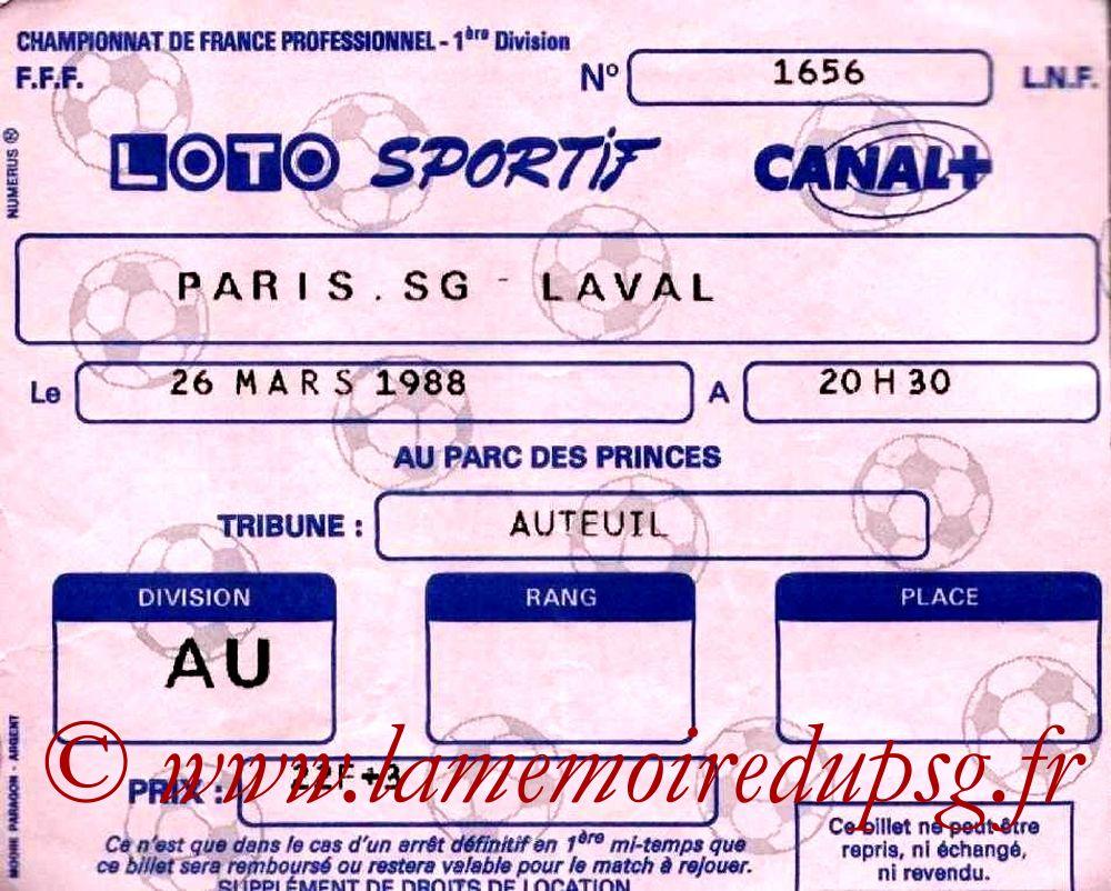 1988-03-26  PSG-Laval (29ème D1)